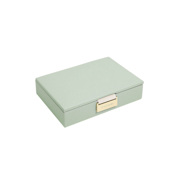 Mini Top Sage Green & Grey Stackers