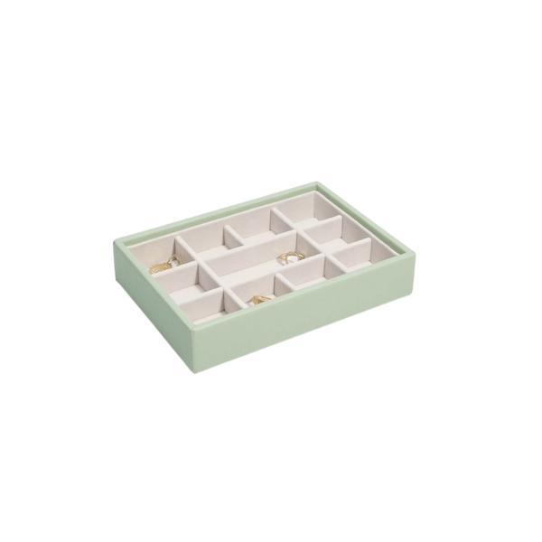 Mini 11 Sage Green & Grey Stackers
